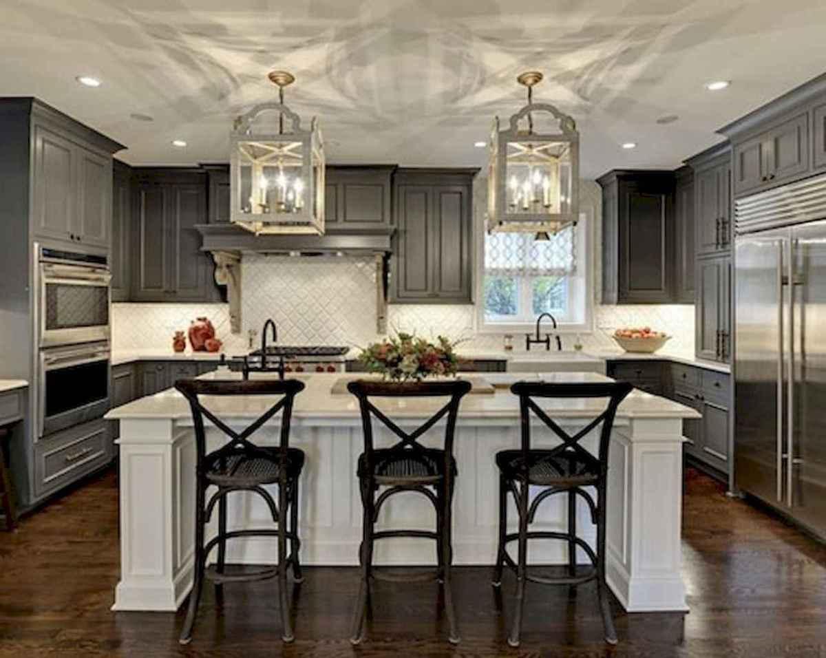 150 gorgeous farmhouse kitchen cabinets makeover ideas (75 ...