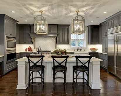 150 gorgeous farmhouse kitchen cabinets makeover ideas (75)
