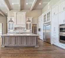 150 gorgeous farmhouse kitchen cabinets makeover ideas (77)