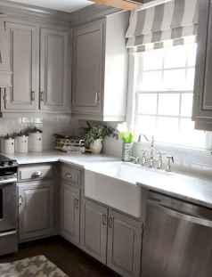 150 gorgeous farmhouse kitchen cabinets makeover ideas (88)