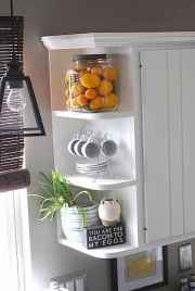 150 gorgeous farmhouse kitchen cabinets makeover ideas (95)