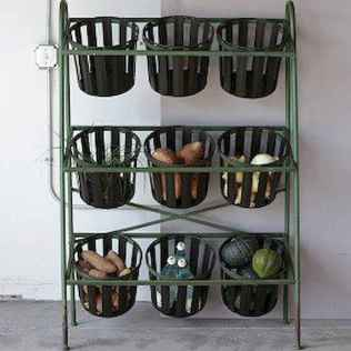 20 awesome diy farmhouse produce rack decor ideas (16)