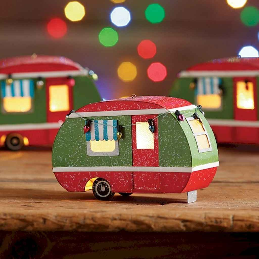 20 awesome rv campers christmas decorations ideas (3)