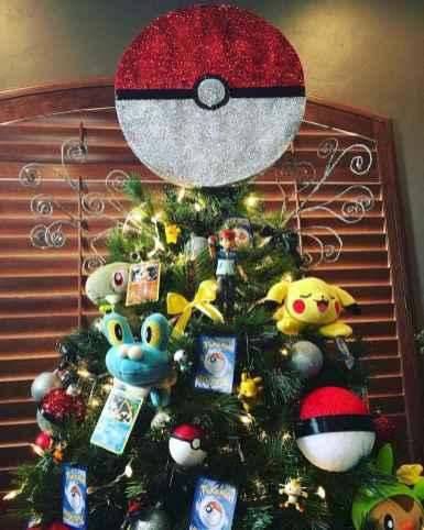 22 cute pokemon christmas tree decor ideas 7