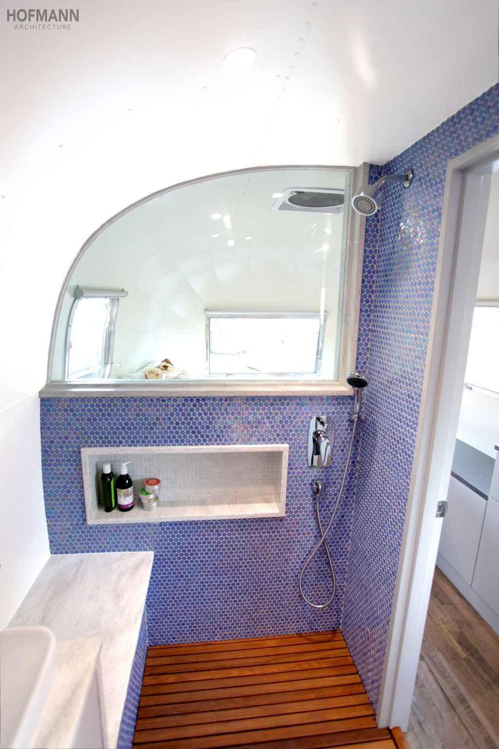 30 Simple Diy Rv Shower Remodel Ideas For Amazing Camper