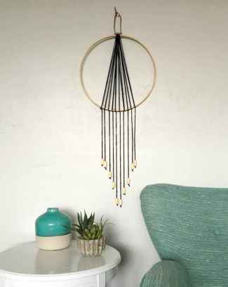 50 diy first apartment ideas on a budget with boho wall decor (12)