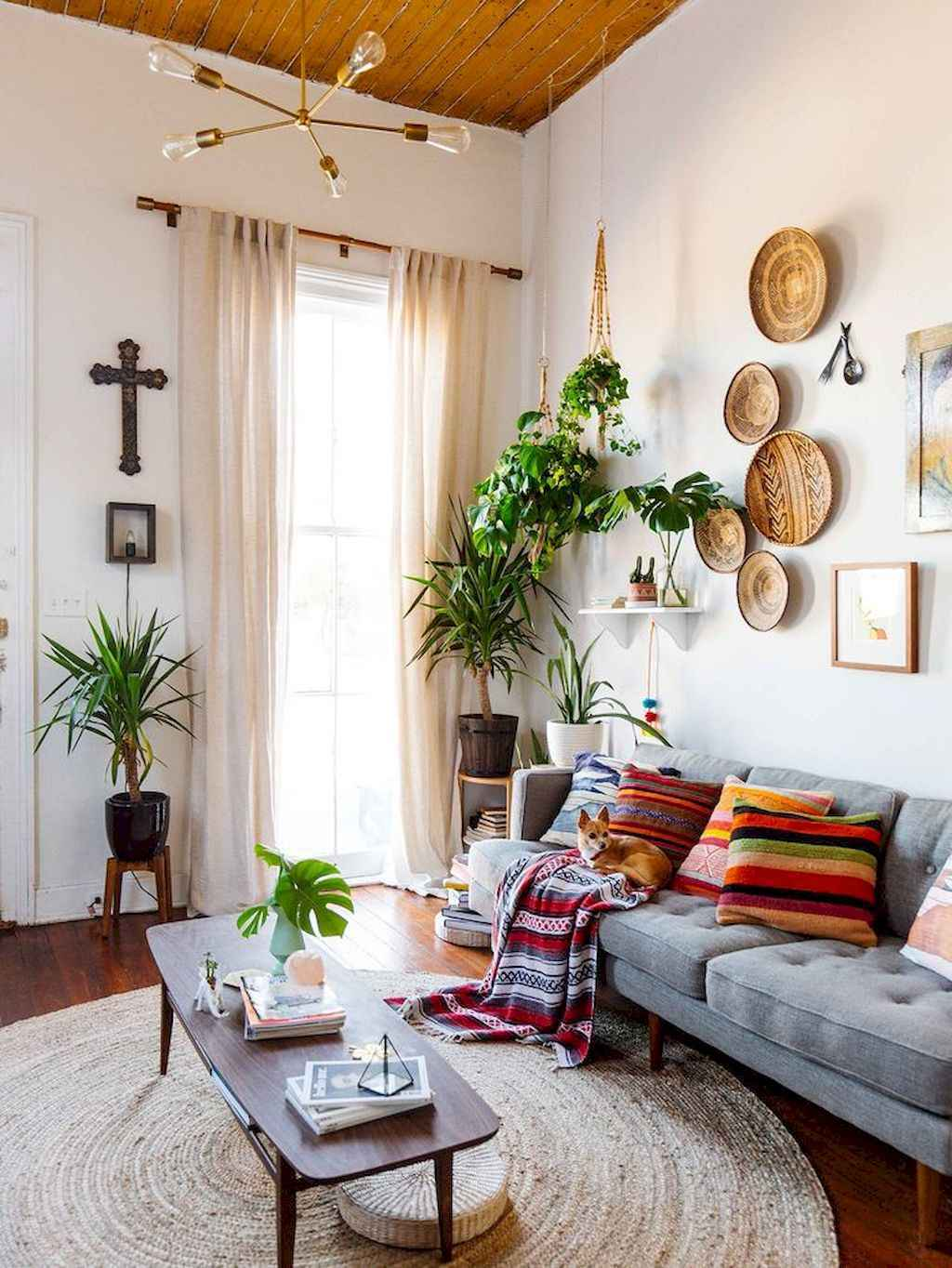 50 Diy First Apartment Ideas On A Budget With Boho Wall Decor (13)