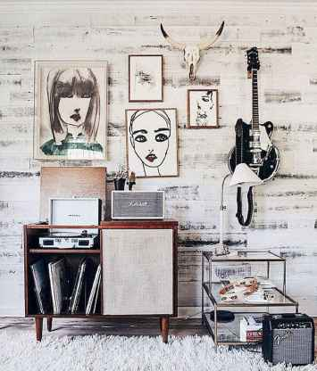 50 diy first apartment ideas on a budget with boho wall decor (31)