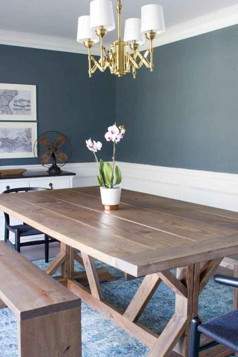 50 on a budget diy farmhouse table plans ideas (14)