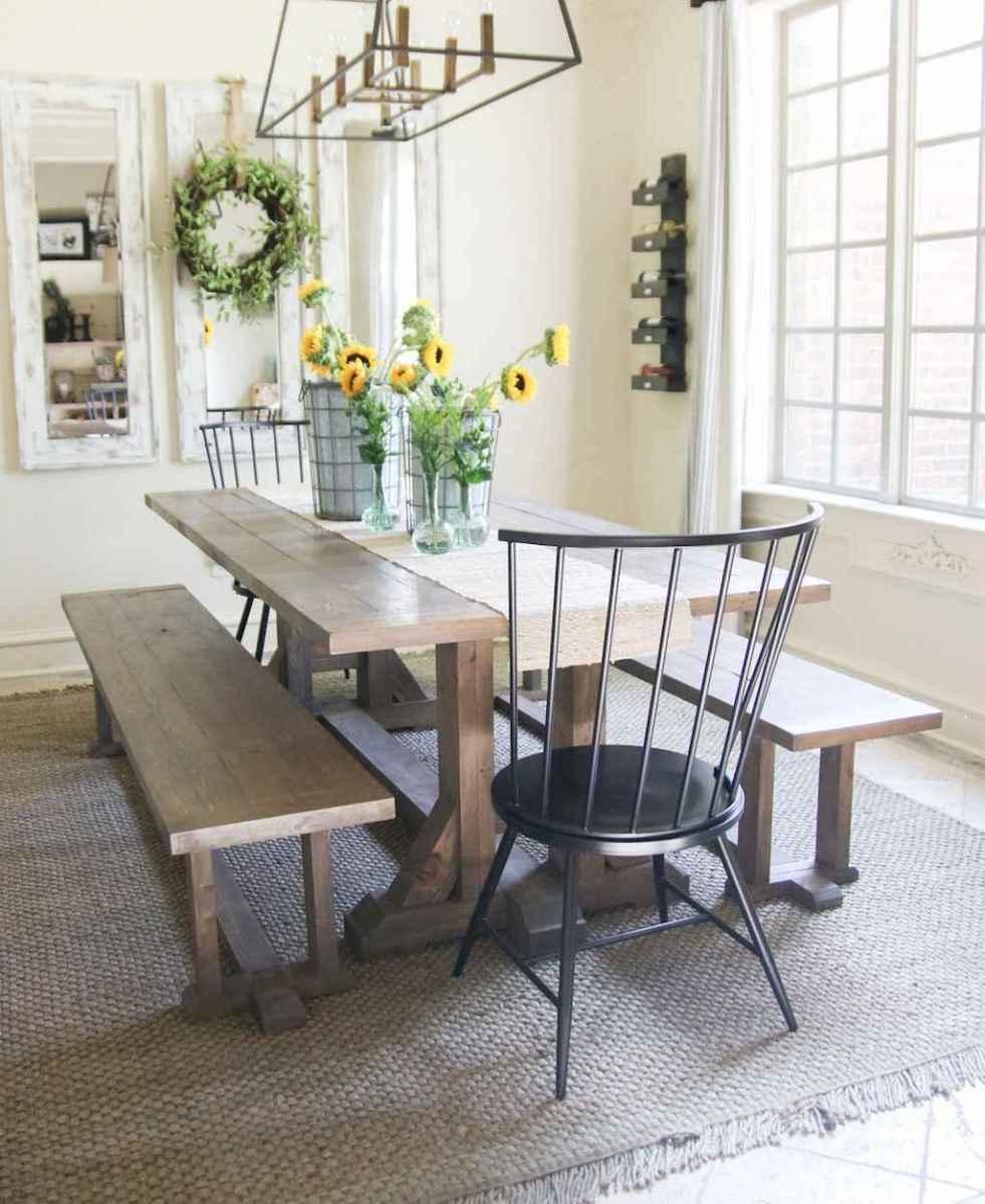 50 on a budget diy farmhouse table plans ideas (3)