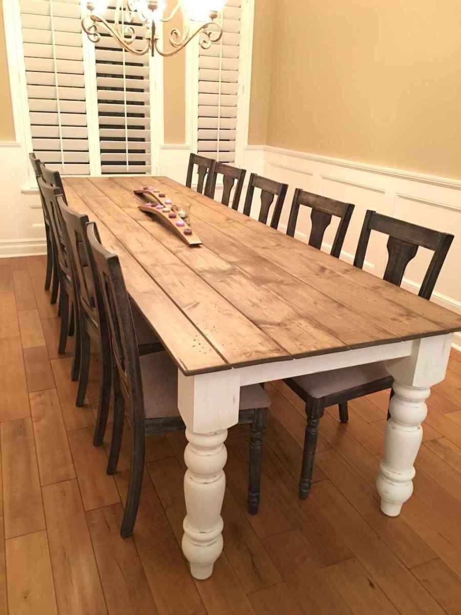 50 on a budget diy farmhouse table plans ideas (31)
