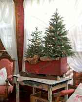 55 awesome christmas front porches decor ideas (47)