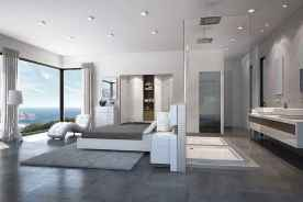 60 awesome open bathroom concept for master bedrooms decor ideas (34)