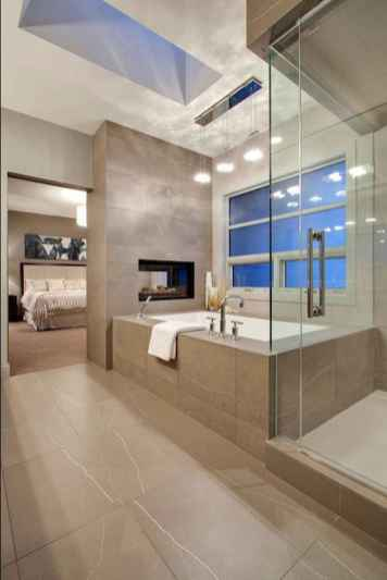 60 awesome open bathroom concept for master bedrooms decor ideas (35)