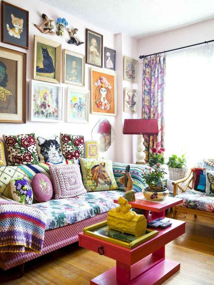 60 granny chic ideas for first apartment decorating on a budget (54)