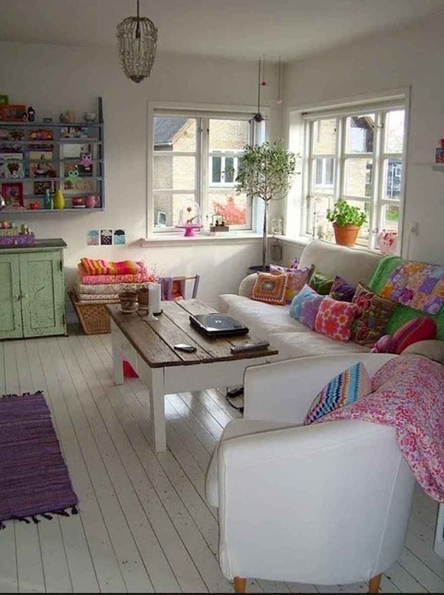 60 granny chic ideas for first apartment decorating on a budget (9)