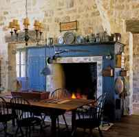 80 incridible rustic farmhouse fireplace ideas makeover (12)