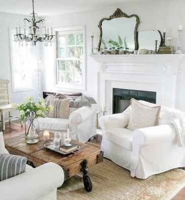 80 incridible rustic farmhouse fireplace ideas makeover (16)