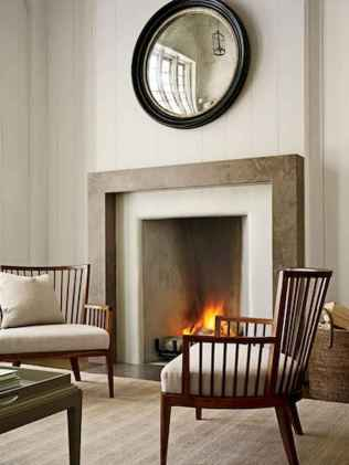 80 incridible rustic farmhouse fireplace ideas makeover (2)