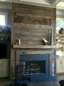 80 incridible rustic farmhouse fireplace ideas makeover (21)