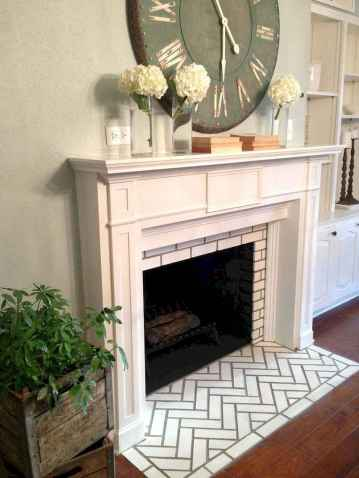80 incridible rustic farmhouse fireplace ideas makeover (26)