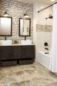 80 stunning tile shower designs ideas for bathroom remodel (17)