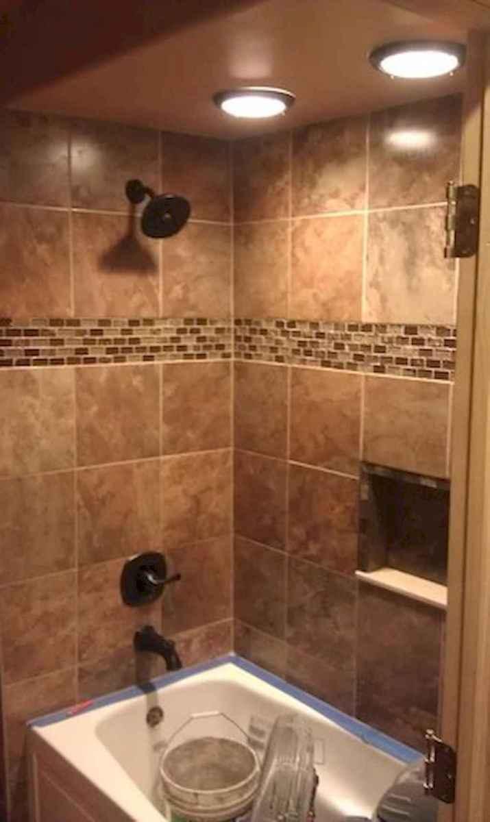 80 stunning tile shower designs ideas for bathroom remodel (25)
