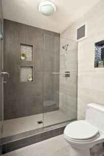80 stunning tile shower designs ideas for bathroom remodel (44)