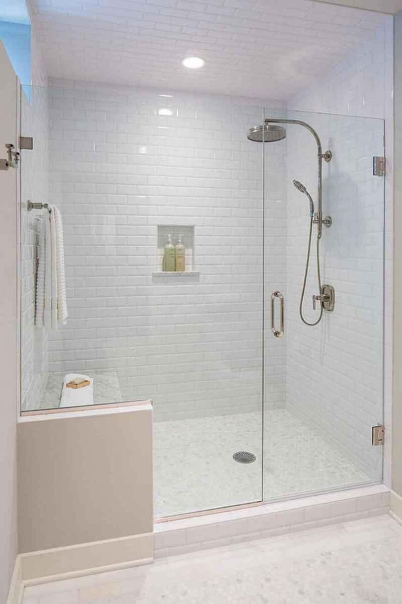 80 stunning tile shower designs ideas for bathroom remodel (5 ...