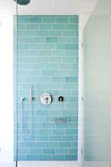 80 stunning tile shower designs ideas for bathroom remodel (70)