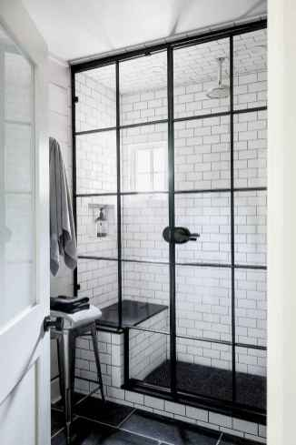 80 stunning tile shower designs ideas for bathroom remodel (8)