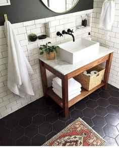 110 spectacular farmhouse bathroom decor ideas (80)