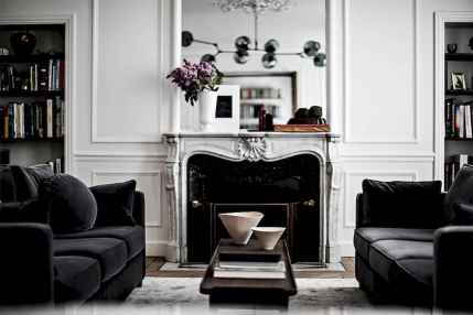 111 beautiful parisian chic apartment decor ideas (82)
