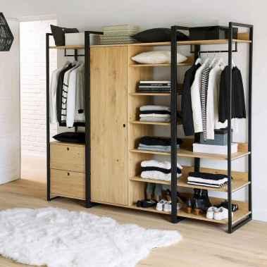120 brilliant wardrobe ideas for first apartment bedroom decor (19)