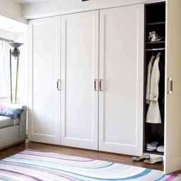 120 brilliant wardrobe ideas for first apartment bedroom decor (49)