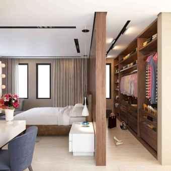 120 brilliant wardrobe ideas for first apartment bedroom decor (5)