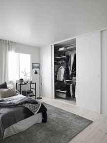 120 brilliant wardrobe ideas for first apartment bedroom decor (74)