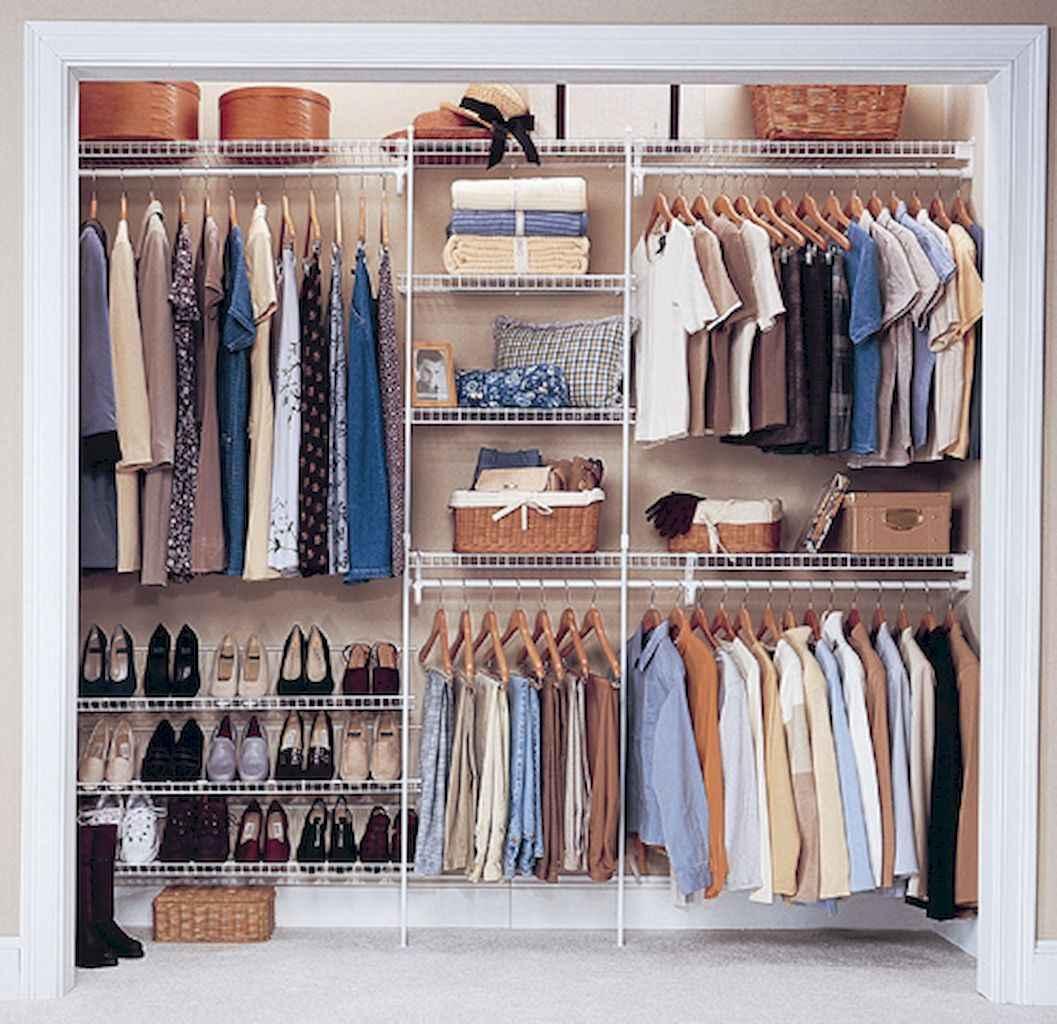 120 brilliant wardrobe ideas for first apartment bedroom decor (79)