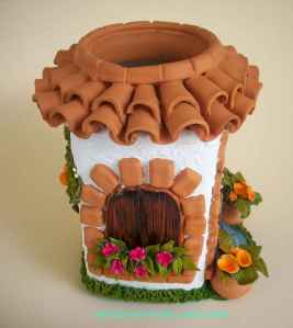 120 easy to try diy polymer clay fairy garden ideas (16)