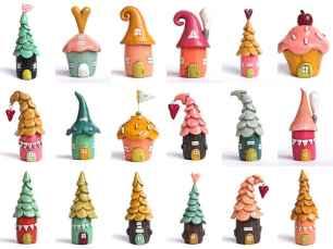 120 easy to try diy polymer clay fairy garden ideas (43)