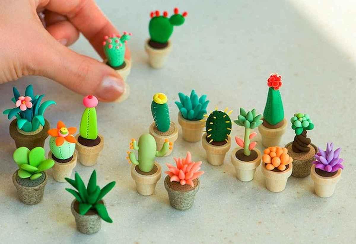 120 Easy To Try Diy Polymer Clay Fairy Garden Ideas 77