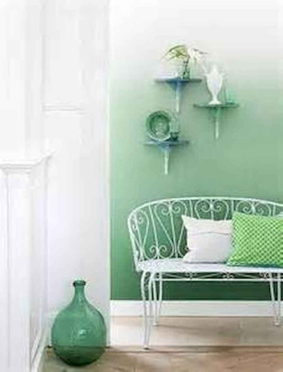 22 diy painted ombre wall for apsrtment decor ideas (9)
