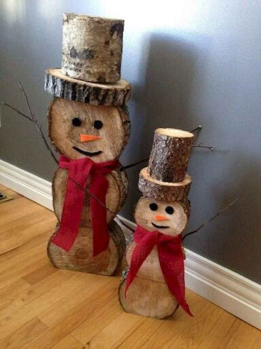 25 gorgeous diy crafts wooden christmas ideas (3)