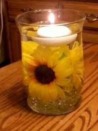 40 diy floating candles crafts ideas (25)