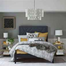 40 navy master bedroom decor ideas (15)