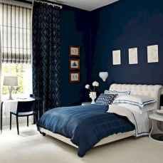 40 navy master bedroom decor ideas (16)