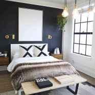40 navy master bedroom decor ideas (32)
