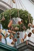 45 outdoor pine cones christmas decorations ideas (15)