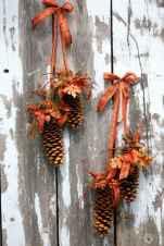 45 outdoor pine cones christmas decorations ideas (22)