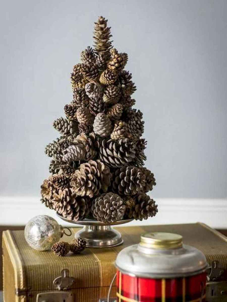 45 outdoor pine cones christmas decorations ideas (30)